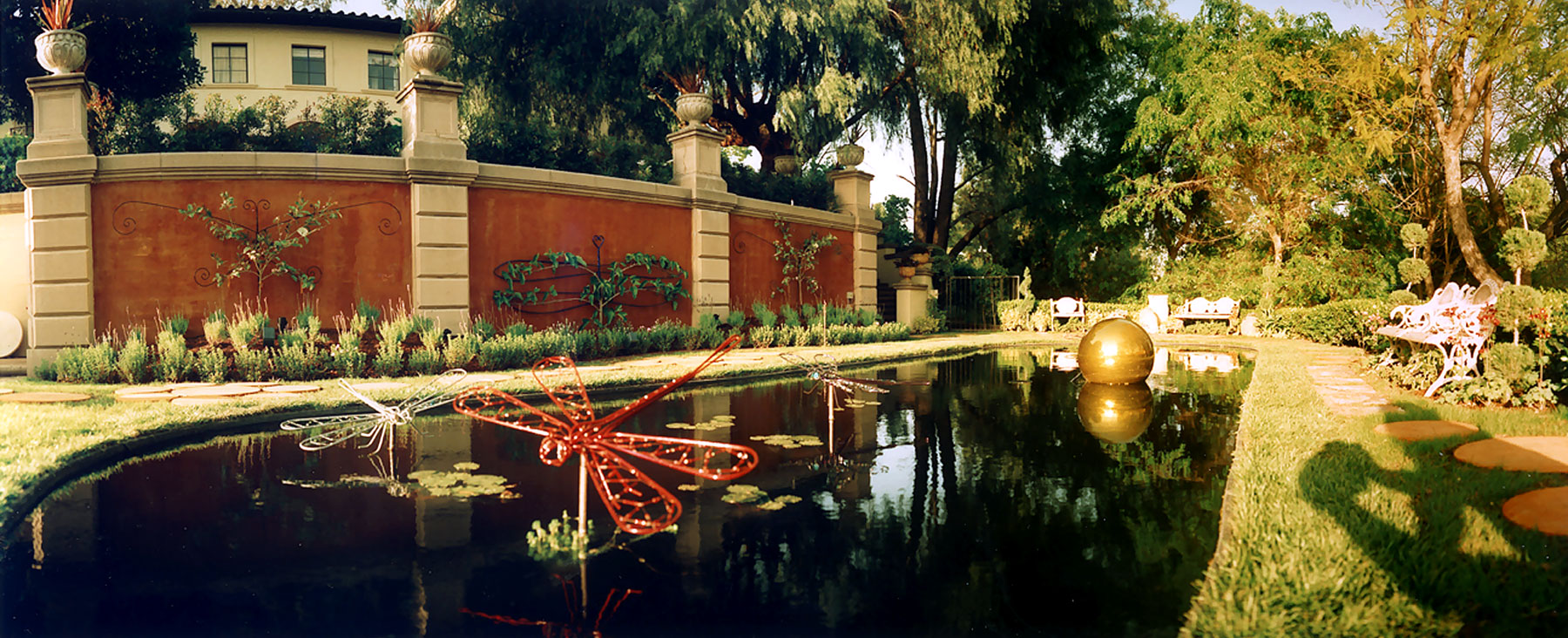 Jeweled Reflecting Garden | Pasadena Showcase House for the Arts