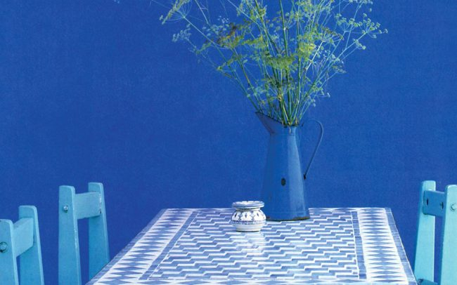 Table with Foeniculum vulgare.