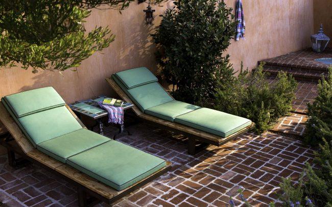 Peninsula lounge chairs by Sutherland