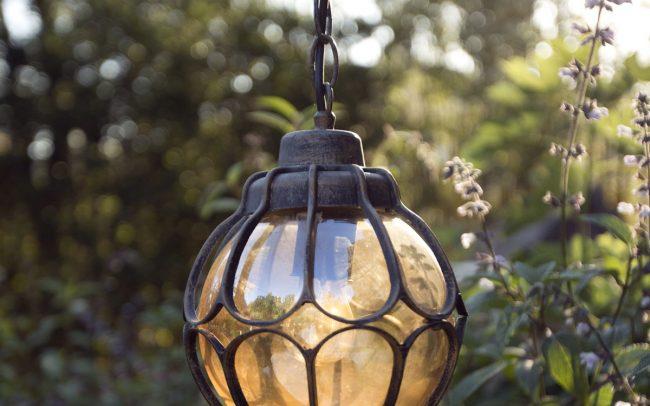 Custom lawn lantern