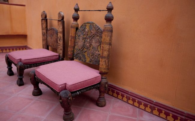 Exotic Indian chairs