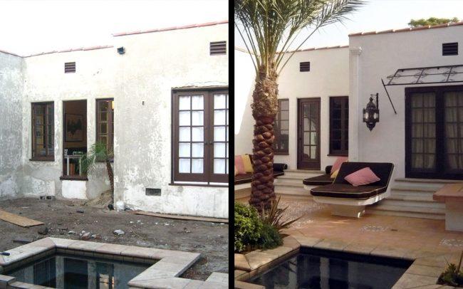 Casa de los Arcos - Before & After