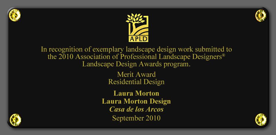 2010 APLD Merit Award
