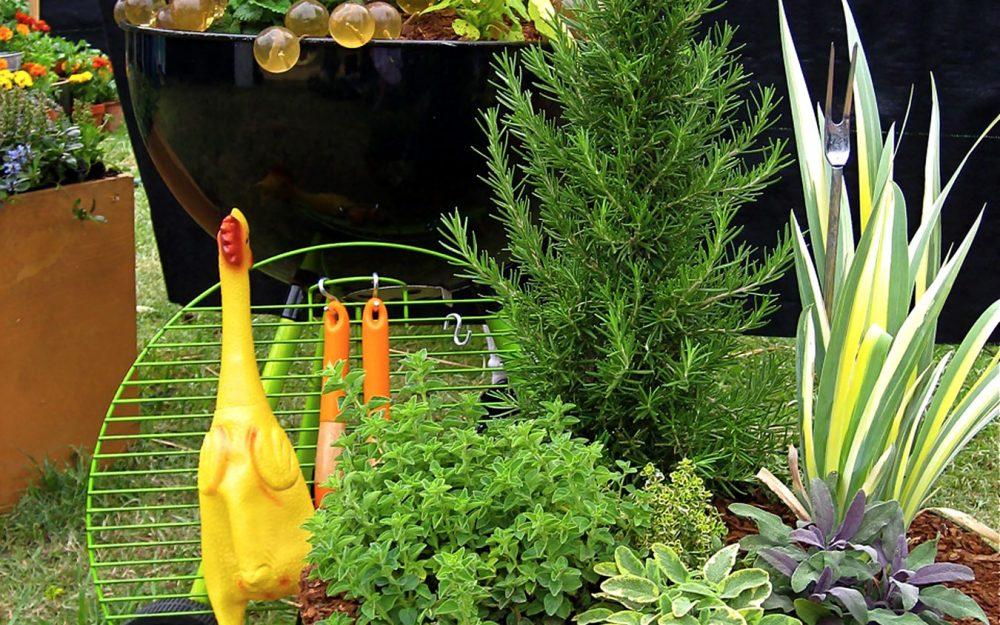 Mediterranean Chicken Grill at 2009 APLD Garden Show
