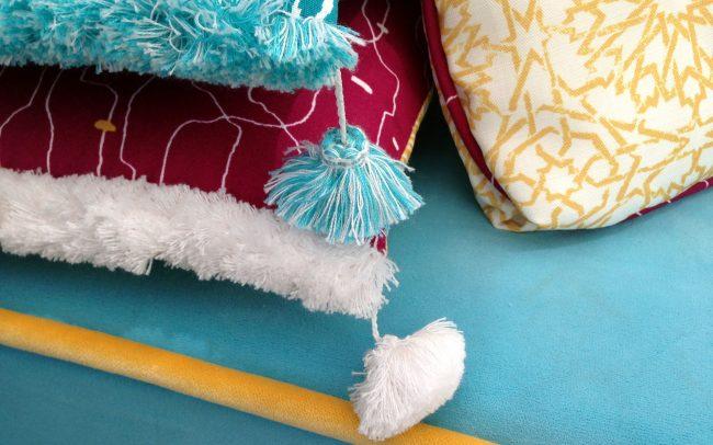 Custom upholstery—detail