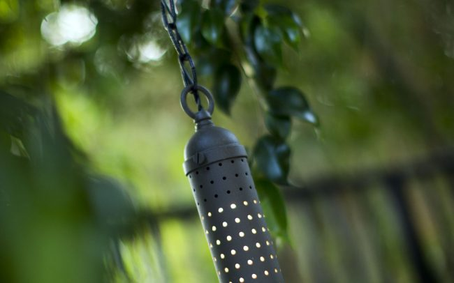 Perforated light fixture