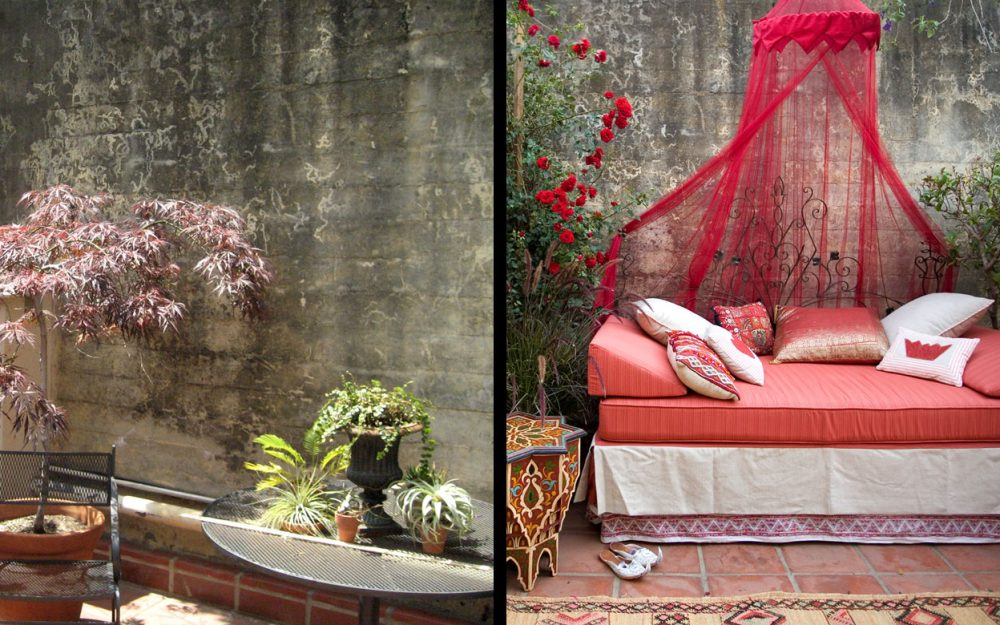 Robinson Gardens Sleeping Porch: Before & After